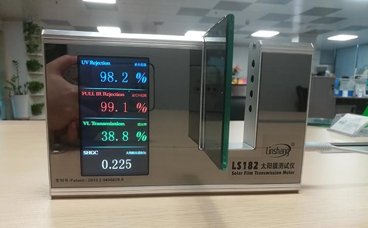 玻璃遮阳系数测试方法-太阳膜测试仪
